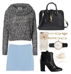 """Untitled #84"" by jieminpeng ❤ liked on Polyvore featuring Chicnova Fashion, Vero Moda, Laurence Dacade, Yves Saint Laurent, Forever 21, Daniel Wellington and J.Crew"