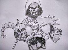 skullmen sketch