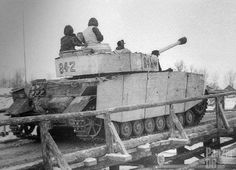 Operation 'Konrad', Panzer IV Ausf. H. in Hungary, February 1945.