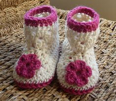 Easy+Crochet+Baby+Booties | Recent Photos The Commons Getty Collection Galleries World Map App ...