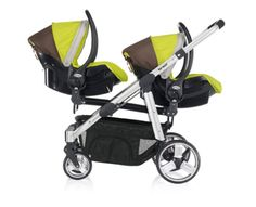 twin strollers with car seats | Car seats - Ovo Twin - Twin stroller - modular system 0 m+