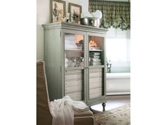 Paula Deen by Universal Dining Room Paula Deen The Bag Lady's Cabinet 451195 - Kittle's Furniture - Indiana and Ohio