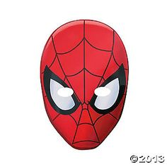 Ultimate Spiderman™ Masks 8/$3.75