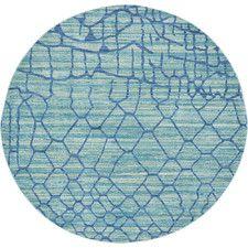 Aria Light Blue Area Rug