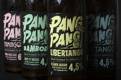 New Packaging for PangPang Summer Series by Snask
