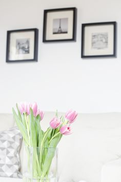 Scandinavian Interior Home Flower