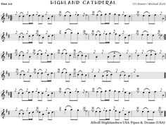 highland cathedral sheet music - Google Search