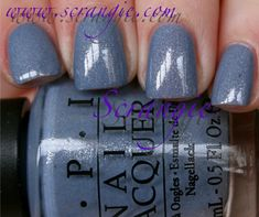 OPI Holland Collection for Spring/Summer 2012 - I Don't Give a Rotterdam No Chip Manicure, No Chip Nails, Get Nails, How To Do Nails, Hair And Nails, Opi Nail Polish, Nail Polishes, Gel Manicures, French Manicures