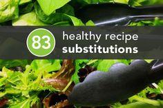 83HealthyRecipeSubstitutions