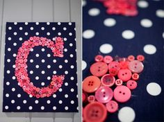 pink and navy girls room | creative-pink-and-navy-babys-nursery-with-mismatched-prints-6.jpg