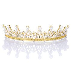 Clothing, Shoes & Accessories Bridal & Wedding Party Jewelry Sensible 88t Contemporary Marquise Pageant Bridal Silver Plated Crystal Rhinestone Tiara