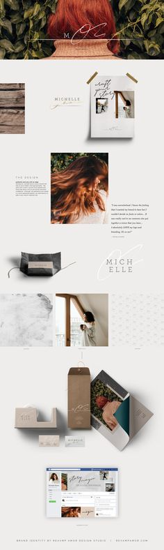 warm, cozy and modern. Branding for an intuitive female business coach by Revamp Amor- logo design, color palette, font selection