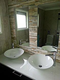 Twin Basins Bathroom Modern, Bathroom Ideas, Bathroom Renovations, Bathrooms, New Toilet, Bathroom Basin, Basins, Brisbane, Showers
