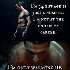 Mam 34 lata, ale wiek to tylko liczby • Nie jestem na końcu swojej kariery piłkarskiej • Zlatan Ibrahimovic dopiero się rozgrzewa >> #zlatan #ibrahimovic #football #soccer #sports #pilkanozna