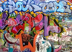 we need real graffiti on the walls Graffiti Lettering, Graffiti Art, Urban Art, Street Art, Weird, Artsy, Vermont, Paradise, Walls