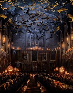 hogwarts around halloween - Hogwarts Halloween