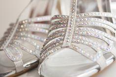 Crystal Embellished Wedding Shoes
