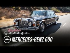 Ståtlig Mercedes-Benz 600 Kompressor hos Jay Leno - En direktörsvagn av rang | Tjock / Garaget