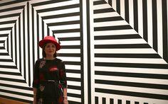 Hat: Suzie Mahony, dress: Carolyn Donnelly. Photo: Clare Pearson