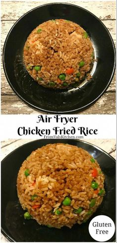 air fryer recipes meat dinner air fryer Air Fryer Chicken Fried Rice Recipe - Mom Knows It All - From Val's Kitchen Air Fryer Recipes Wings, Air Fryer Recipes Meat, Air Fryer Recipes Potatoes, Air Fryer Recipes Appetizers, Air Fryer Recipes Breakfast, Air Frier Recipes, Air Fryer Dinner Recipes, Air Fryer Recipes Gluten Free, Meat Appetizers