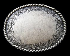 Flower Floral Engravable Cool Western Cowgirl Cowboy Belt Buckles Cool Belt Buckles, Rodeo Belt Buckles, Vintage Belt Buckles, Western Style Belts, Western Wear, Boot Bling, Le Far West, Cowboy And Cowgirl, Star Flower