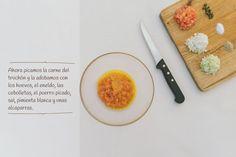 Paso 3: Hamburguesa de Trucha del Cinca con alcaparras de Ballobar.  http://www.recetasoidococina.es/hamburguesa-de-trucha/