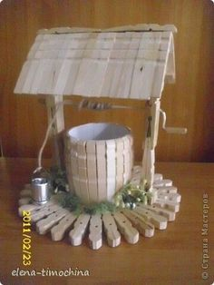 Crazy DIY Clothespin Projects for Reuse Popsicle Stick Crafts, Craft Stick Crafts, Crafts To Make, Home Crafts, Crafts For Kids, Arts And Crafts, Popsicle Sticks, Wooden Clothespin Crafts, Wooden Clothespins