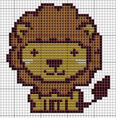Cross me not: Adorable lion