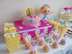 Lalaloopsy Birthday Party with Such Cute Ideas via Kara's Party Ideas KarasPartyIdeas.com #lalaloopsyparty #girlparty #dollparty #partydecor...