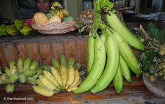 Verschiedene Bananenarten Thai Dessert, Thai Snacks, Banana, Fruit, Food, Thai Recipes, Recipes With Bananas, Eating Raw, Harvest