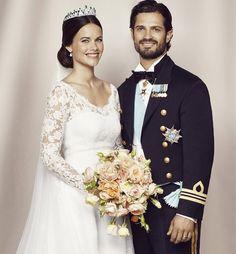 Carlos Felipe de Suecia y Sofia Hellqvist - junio 2015