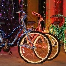 Tybee Island Tour de Lights Bike Parade: December 20th. Parade at 6pm, bike line up at 5pm. #tybee #bikes