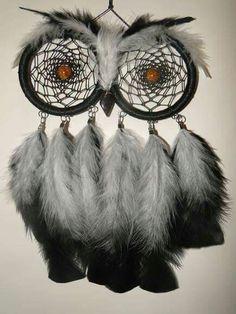 .Owl dreamcatcher
