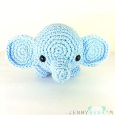 (4) Name: 'Crocheting : Midi Elephant Amigurumi Plush