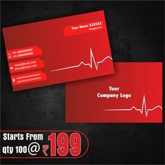 Professionally Visiting Card Design Visitingcards Online Shop