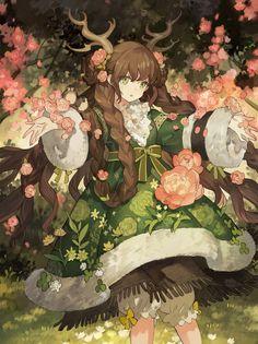 STAR影法師 @starshadowmagic Kawaii Art, Kawaii Anime Girl, Anime Art Girl, Manga Art, Anime Girls, 5 Anime, Anime Angel, Pretty Anime Girl, Beautiful Anime Girl