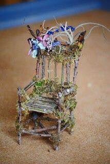 A fairy chair