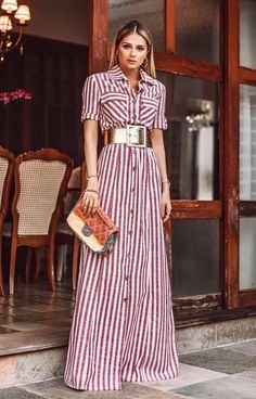 African Print Fashion, Asian Fashion, Stylish Outfits, Cool Outfits, How To Look Pretty, Dress To Impress, Beautiful Dresses, Fashion Dresses, Short Sleeve Dresses
