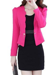 28b9aecd63b95 LeNG Women Dresses Suits Office Women Workwear Blazer And Dress Suit For  Female RoseLarge --