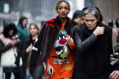 Moschino Fall/Winter 2016 Street Style | Highsnobiety