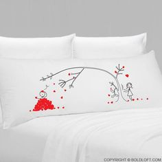 Love You Madly™ Body Pillowcase