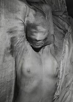Erwin Blumenfeld, Wet Veil, Paris, 1937