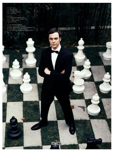 Jim Parsons, Love him in the Big Bang Theory...too funny