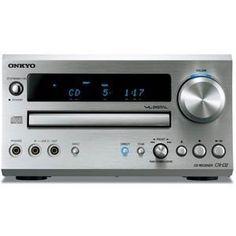Onkyo CD/FM Tuner Amplifier CR-D2(S) (Silver) Japan Import by Onkyo. $524.61