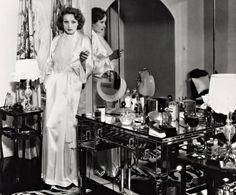 Marlene Dietrich in her Beverley Hills home.