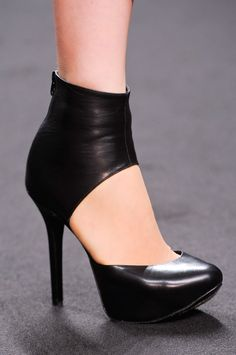 Byblos at Milan Fashion Week Fall 2013..a girl can never have too many shoes..right? These shoes will  rock you fall wardrobe!
