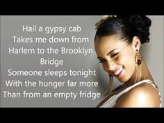 Alicia Keys - Empire State Of Mind lyrics