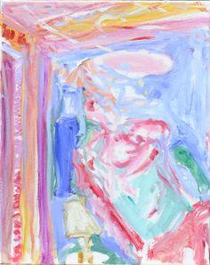 Trenton Shipley | Australian Oil Painter | 'Jacaranda Nights' Oil on canvas 46 x 36 cm Oil Painters, Oil On Canvas, Abstract, Artwork, Painting, Summary, Work Of Art, Auguste Rodin Artwork, Painting Art
