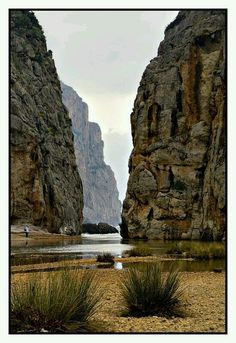 Escorca -Mallorca- (Illes Baleares), España - Playa de Sa Calobra