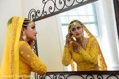 Dreamy maharani in yellow wedding attire. http://www.maharaniweddings.com/gallery/photo/106369